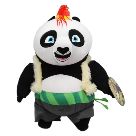 King Fu Panda 3 Po w/Coat and Tiny Hat Kids Medium Size Plush Toy (10in)