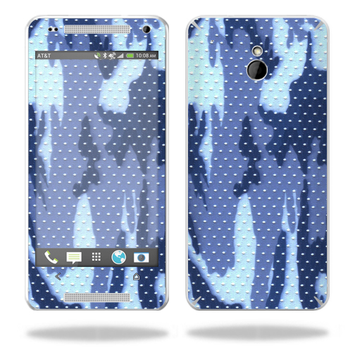 Mightyskins Protective Vinyl Skin Decal Cover for HTC One Mini M4 wrap sticker skins