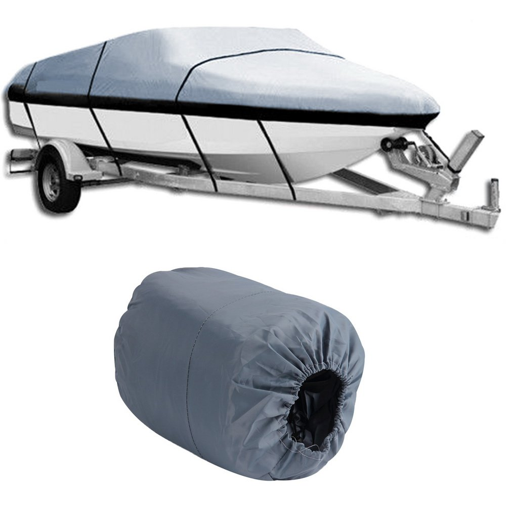 heavy duty waterproof mooring boat cover fits length 17-1...