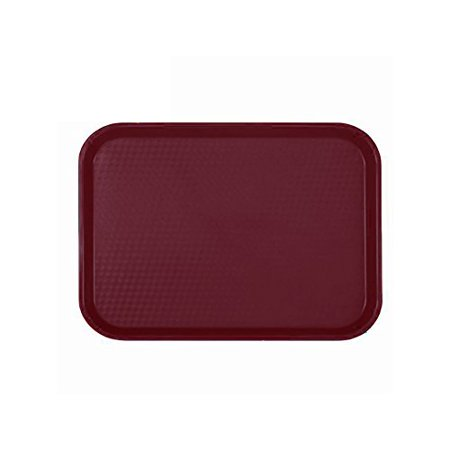 Brown Fast Food Tray - Update International FFT-1418BR Fast Food Tray, Brown, 14 x 18 inch