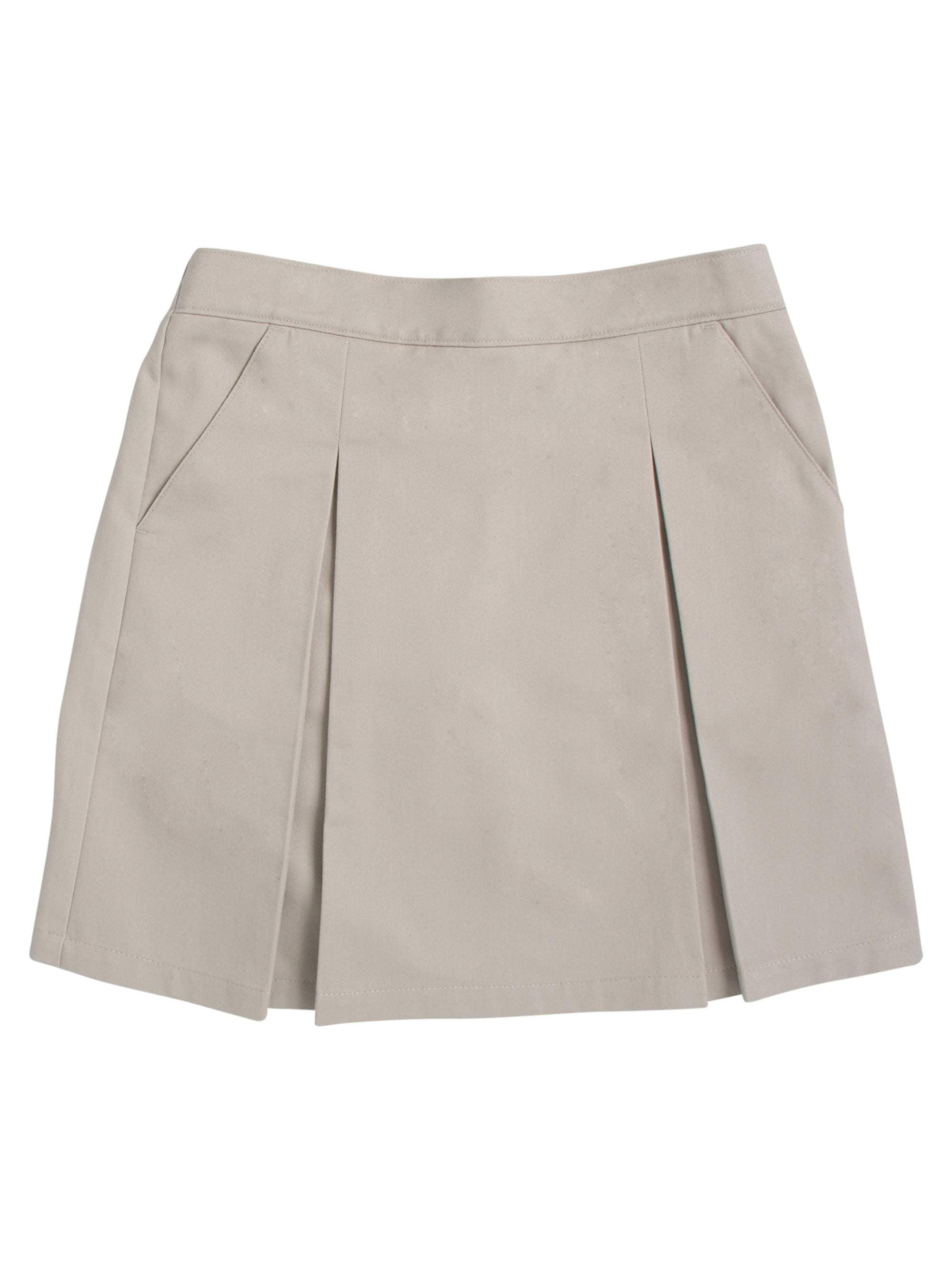 Girls' PLUS School Uniform Twill Scooter with Pockets