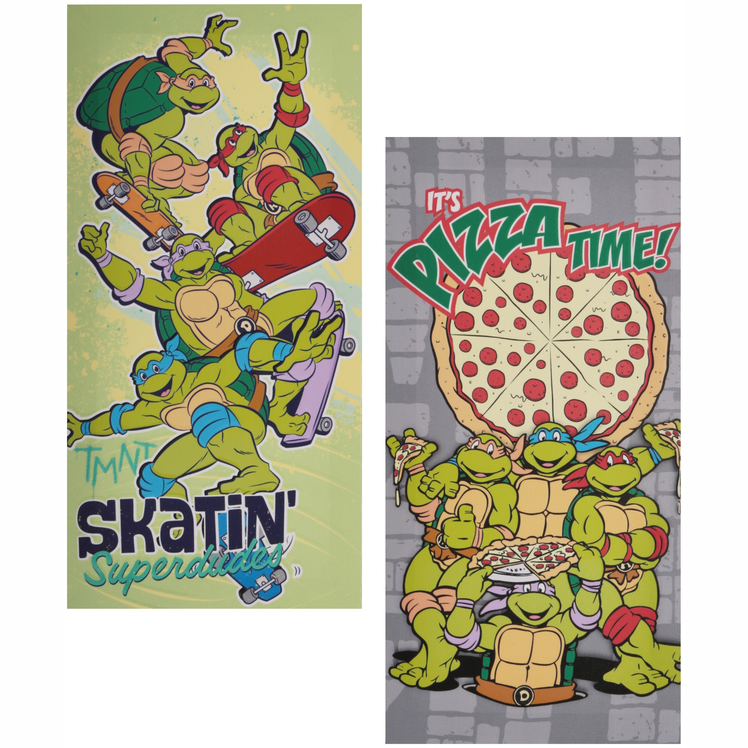 Teenage Mutant Ninja Turtles® 2 Pack Canvas Wall Art 2 pc Pack