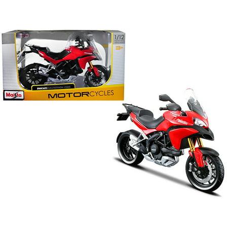 Ducati 2009 Models (Ducati Multistrada 1200S Red 1/12 Motorcycle Diecast Model by)