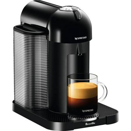 Nespresso - Vertuo Coffee Maker and Espresso Machine by Breville - Black