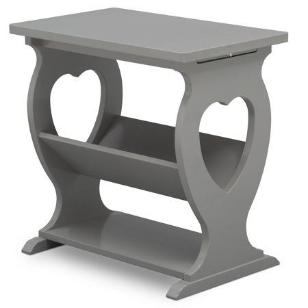 Nursery Traditional Table (Delta Children Canton End Table/Side Table for the Nursery,)