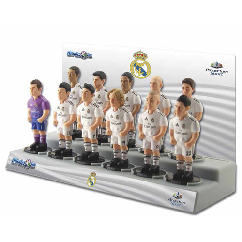 Minigols Real Madrid C.F. Team Figures, 11ct
