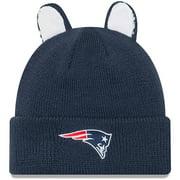 New England Patriots New Era Toddler Cozy Cutie Cuffed Knit Hat - Navy - OSFA