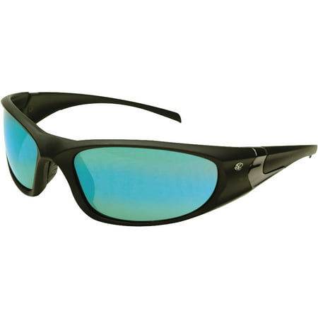 Yachter's Choice Hammerhead Sunglasses with Blue Mirror Polarized (Blue Lens Sunglasses Polarized)