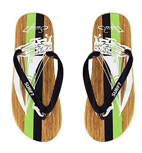 1bf3132b8 Peach Couture Mens Beach Flip Flops Textured Strappy Slip On ...