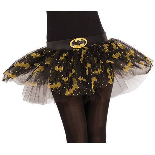 Batgirl Womens Tutu Skirt Halloween Costume Accessory