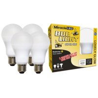 Miracle LED Lovely Glow Yellow LED outdoor Bug Lite Replace 60W 4-Pack