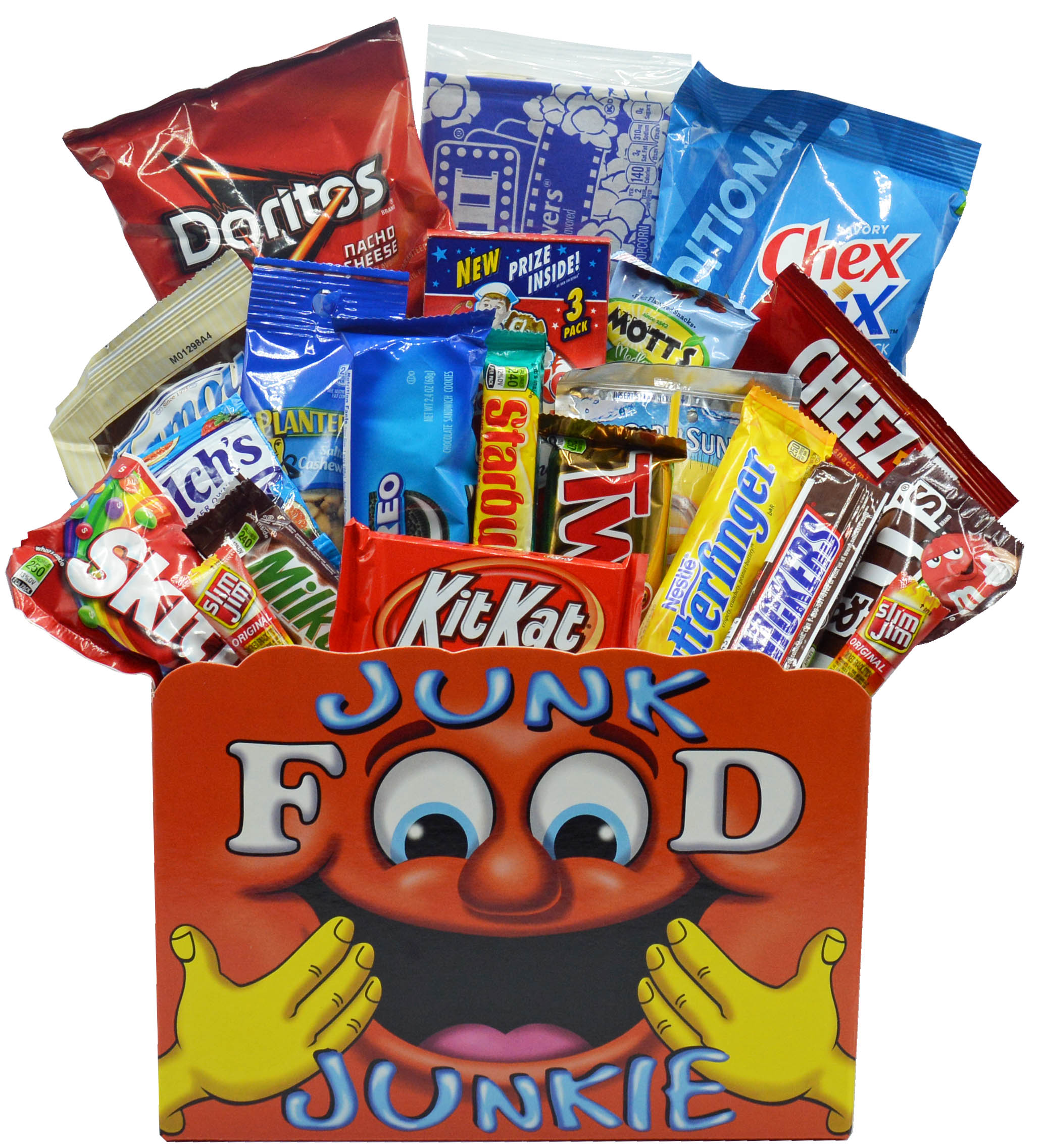 Junk Food Junkie Care Package