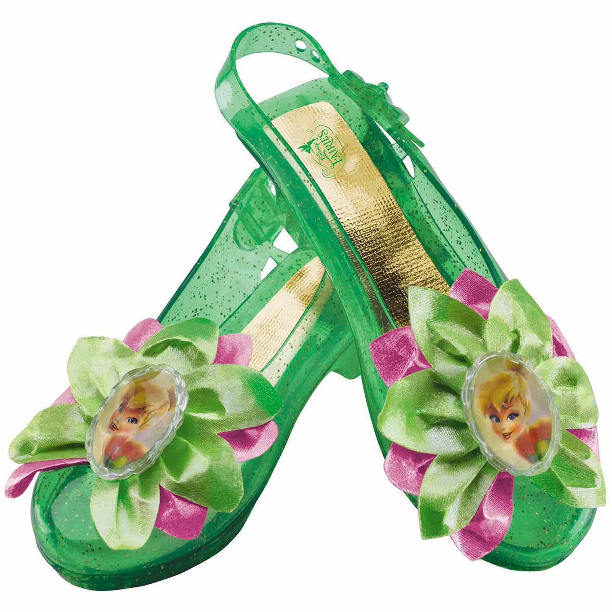 Disney Tinker Bell Sparkle Shoes Child Halloween Costume Accessory