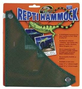 Zoo Med Mesh Reptile Hammock, 14-Inch Multi-Colored
