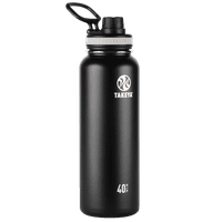 Deals on Takeya Originals SS Water Bottle w/Spout lid 40oz