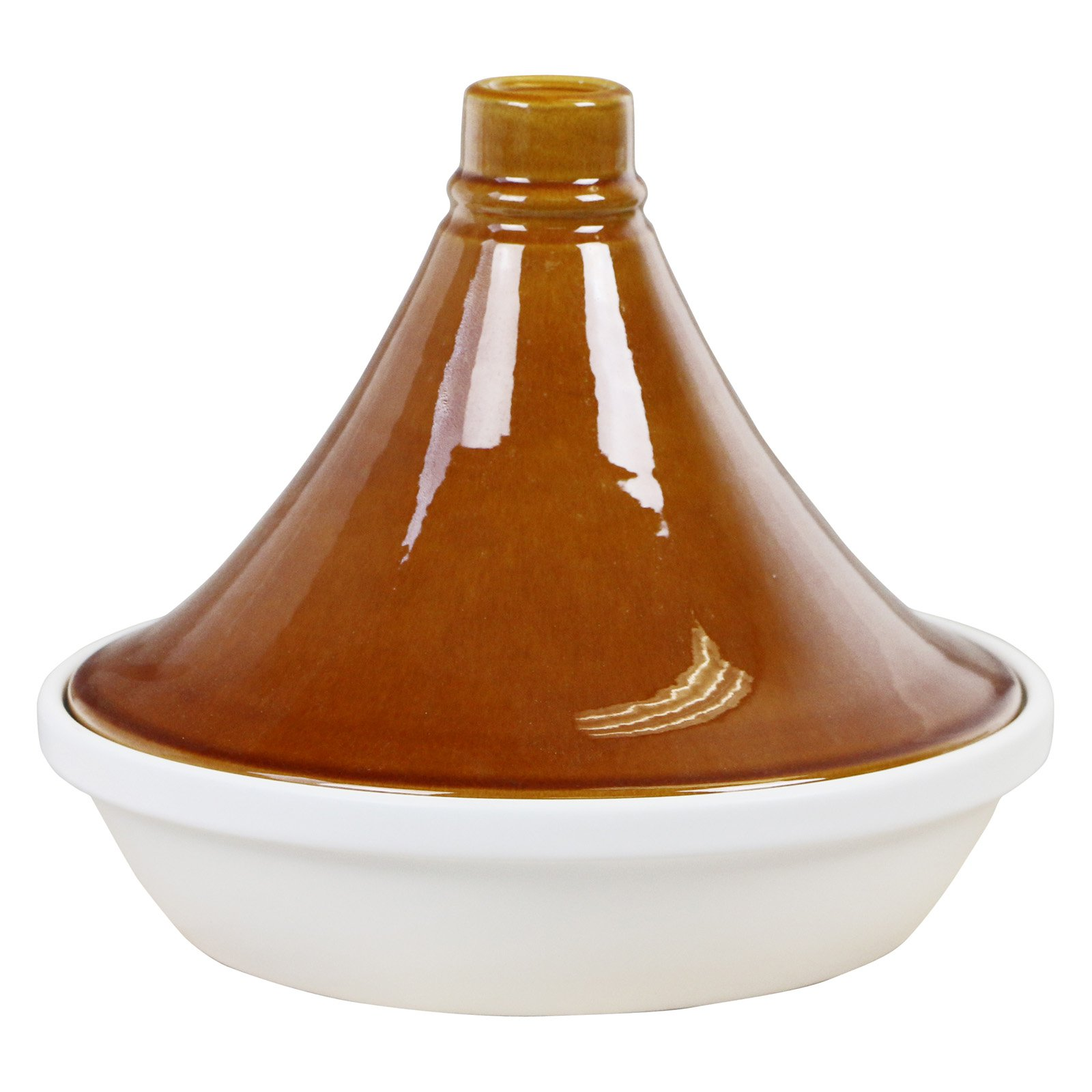 Eurita Porcelain 2.5 Qt. Tagine, Honey