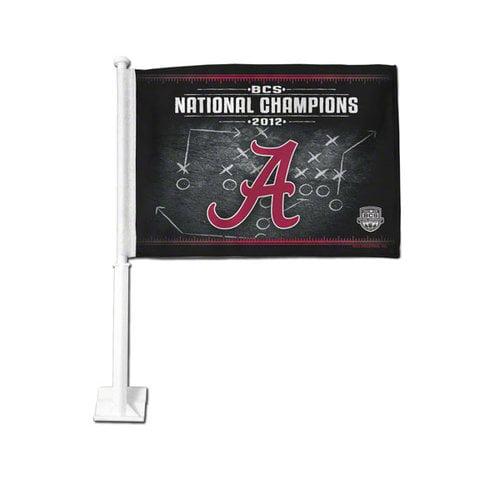 NCAA - Alabama Crimson Tide 2012 BCS National Champions Car Flag