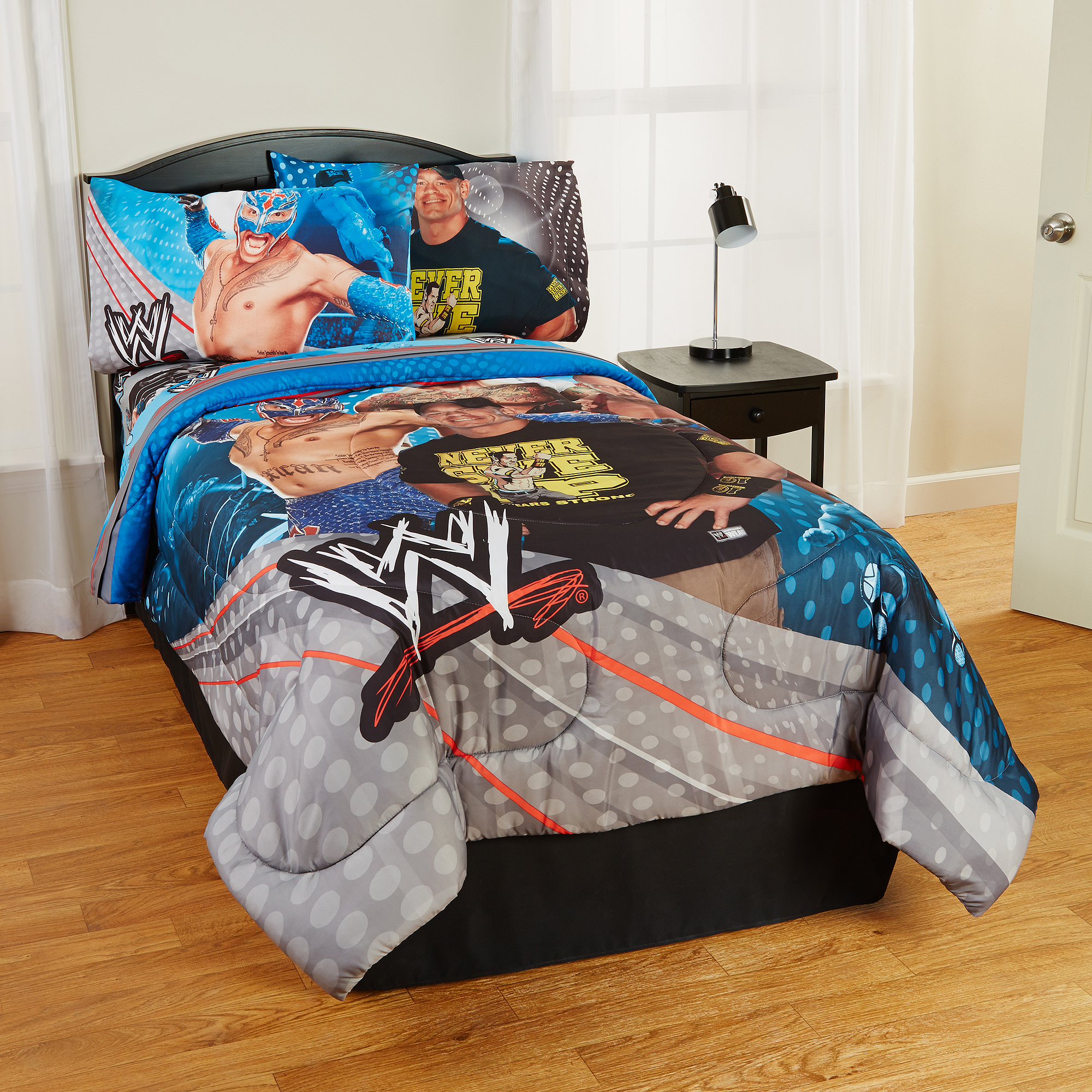 Wwe Queen Size Bedding Solid Graphikworks Co