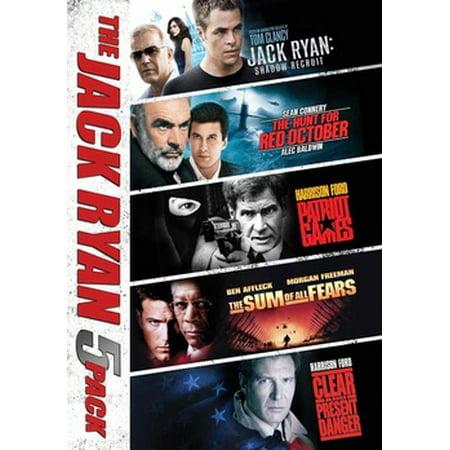 Jack Ryan Collection 5 Movies (DVD) (James Bond Movie Collection)