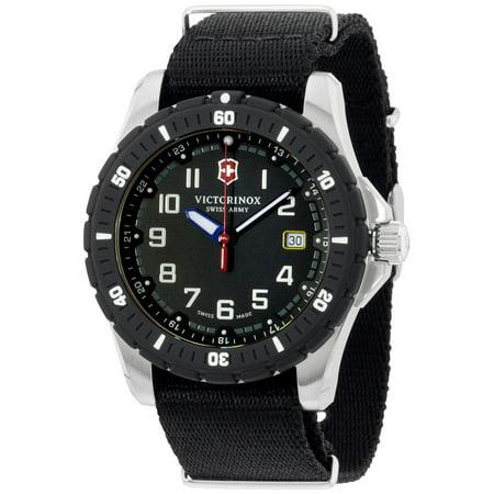 Victorinox Swiss Army Men's Maverick 241674.1 Black Nylon Swiss Quartz Watch