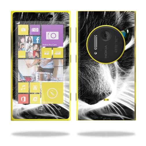 Protective Vinyl Skin Decal Cover for Nokia Lumia 1020 wrap sticker skins Cat