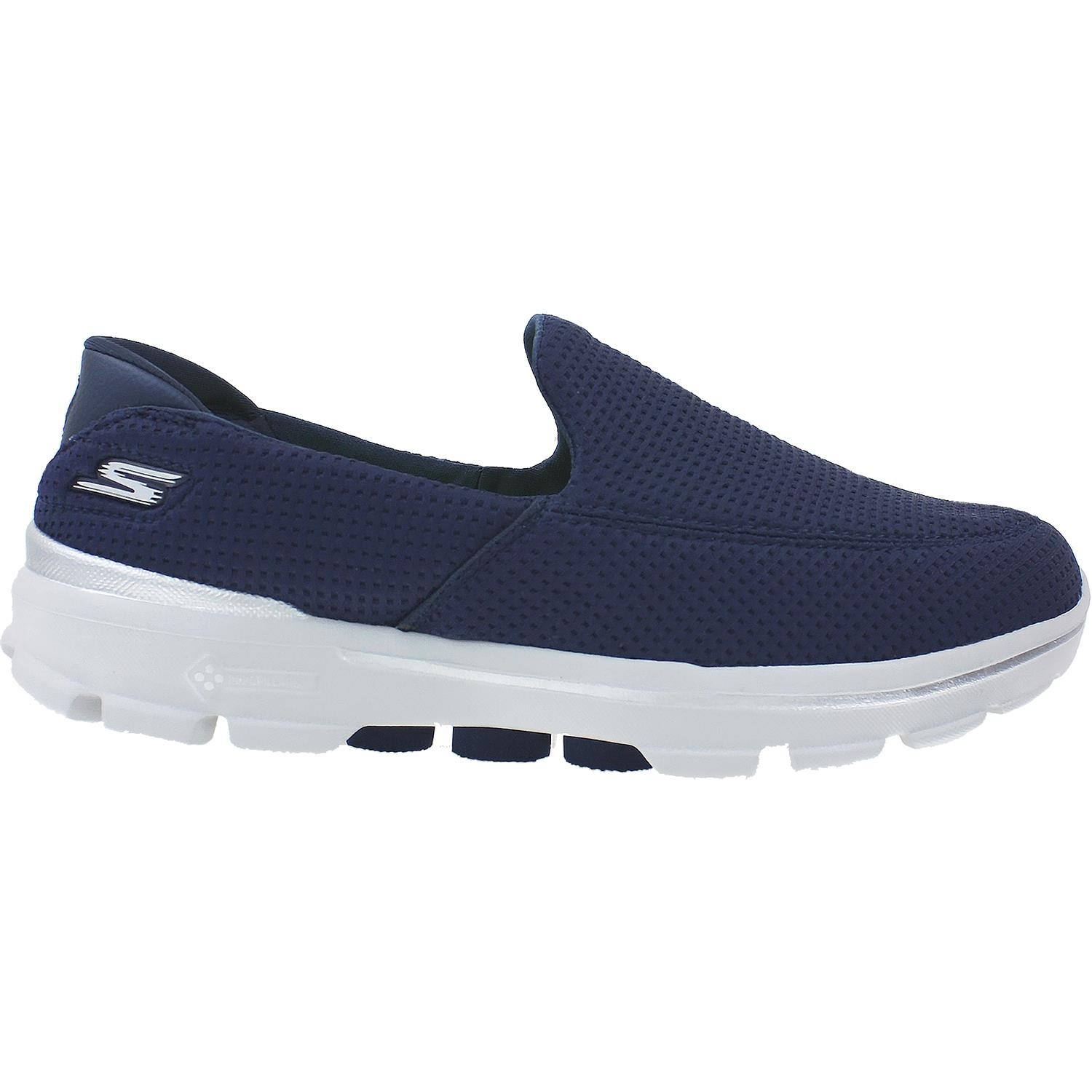Skechers Performance Men's Go Walk 3 Unfold Walking Shoe,Navy,13 M