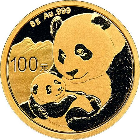2019 Chinese Gold Panda 8 Gram Silver Coin - Chinese Coins Value