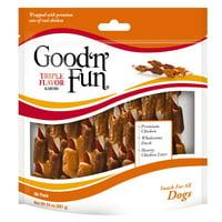 Good 'n' Fun Triple Flavor Kabobs Rawhide Dog Chews, 24 Oz. (36 Count)