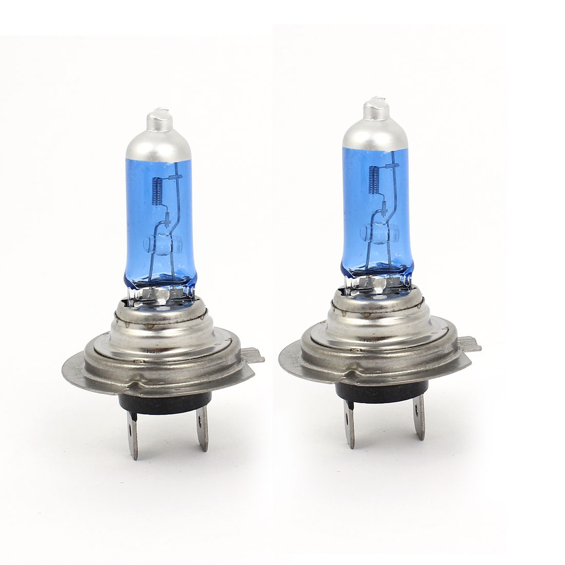 2 Pcs Super White H7 Xenon Halogen Headlight Light Lamp Bulbs 50W 12V Unique Bargains