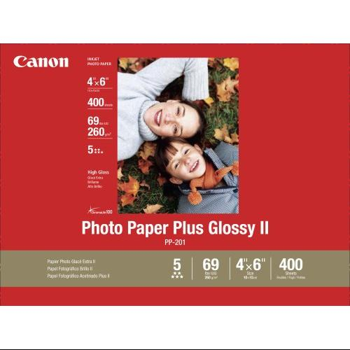 "Canon Photo Paper Plus Ii - 4"" X 6"" - Glossy - 400 X Sheet (2311b031)"