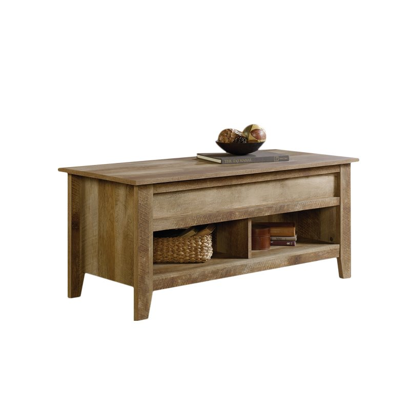 Charmant Sauder Dakota Pass Lift Top Coffee Table, Craftsman Oak Finish