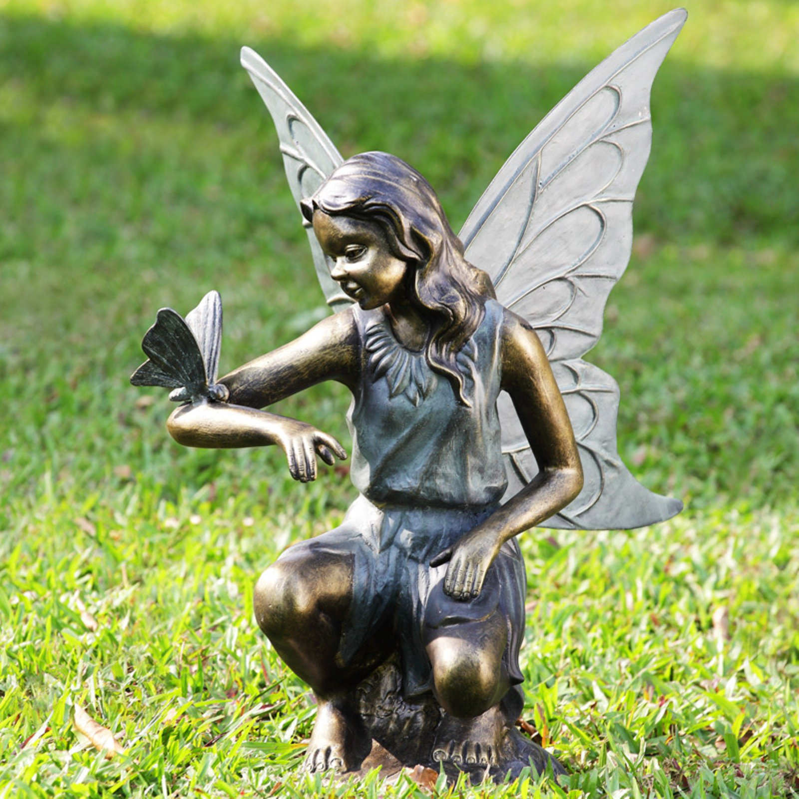 San Pacific International Fairy Grace Garden Statue