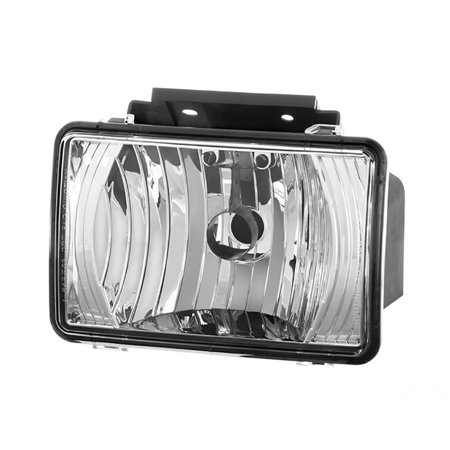 Chevy Colorado Driver Design - VIPMOTOZ OE-Style Front Fog Light Driving Lamp Assembly For 2004-2012 Chevy Colorado & GMC Canyon Pickup Truck, Driver & Passenger Side