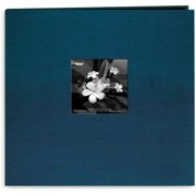 "Silk Post Bound Album 12""X12""-Lagoon"