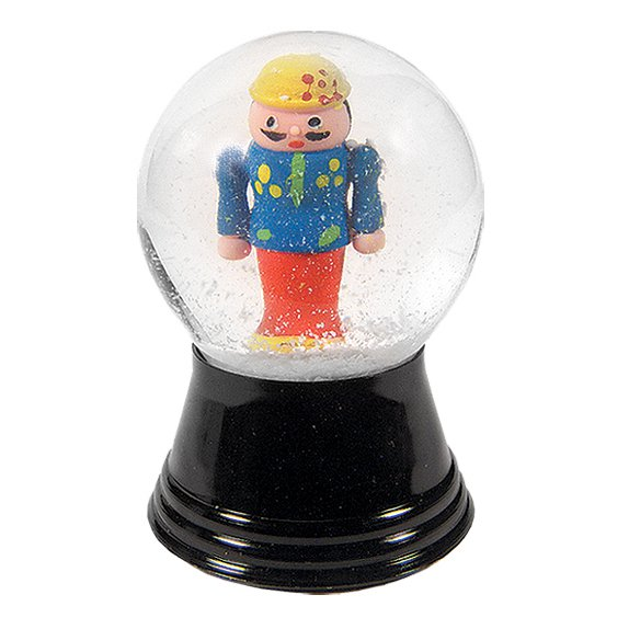 Small Nutcracker Snow Globe
