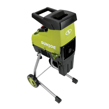 Sun Joe CJ603E Cutting Diameter Electric Silent Wood Chipper/Shredder | 15-Amp | 1.7-Inch