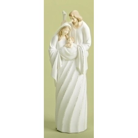 """10"""" Good Tidings Battery Operated LED Lighted Holy Family Christmas Nativity Figure"""