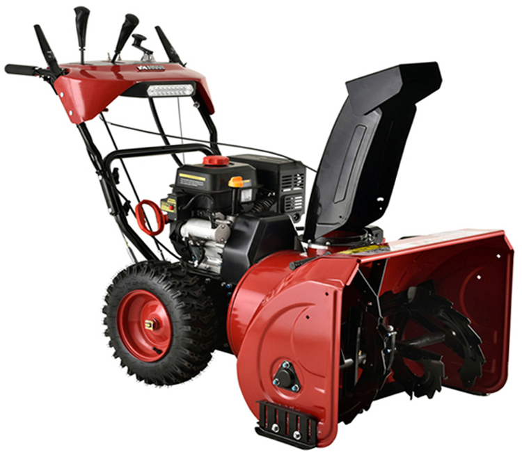 AST-30 in. Two-Stage E-Start Gas Snow Blower with Auto-Turn Steering Heated Grips by Amico Power Corp