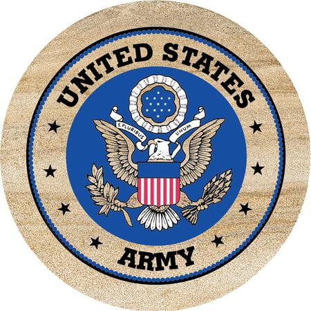 Thirstystone Drink Coasters Set, Army