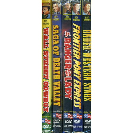 Roy Rogers Collection 2: 5-Pack Bundle (DVD)