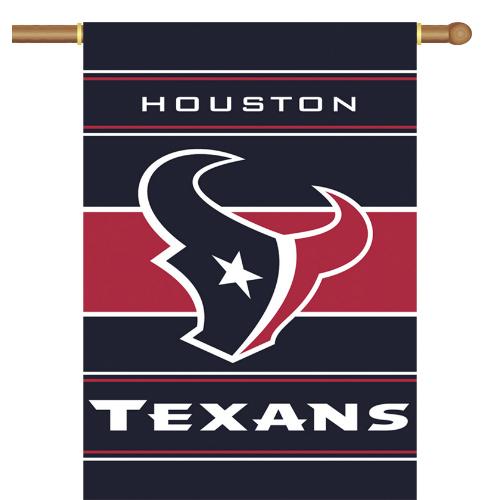Fremont Die Inc Houston Texans 2-Sided House Banner House Banner