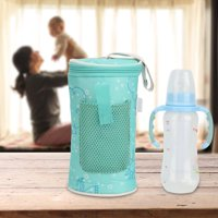 Greensen USB Baby Bottle Warmer Heater Insulated Bag Travel Cup Portable In Car Heaters