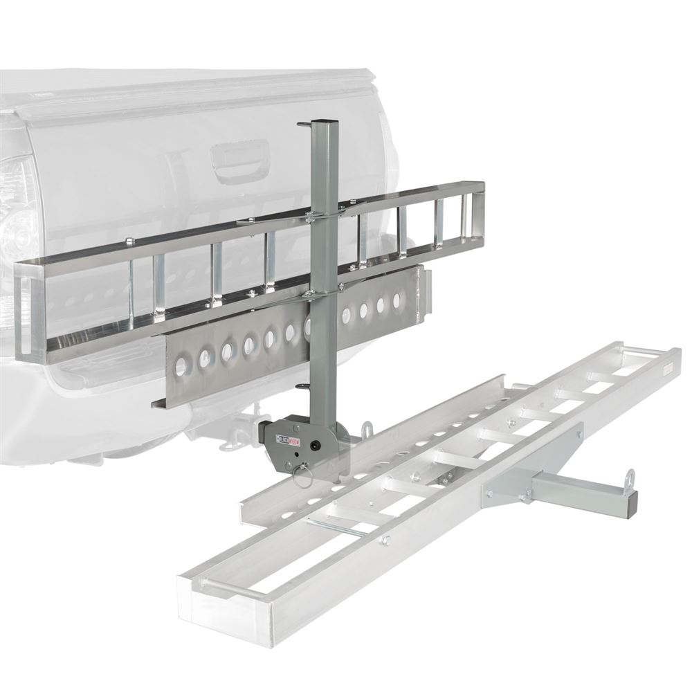 Folding Aluminum Dirt Bike Hitch Carrier AMC-400-F (Bundle)