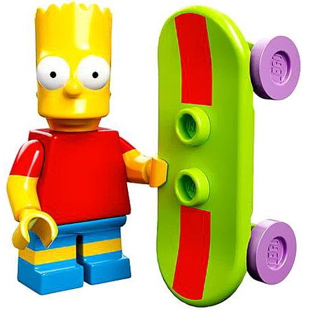 LEGO LEGO Simpsons Series 1 Bart Simpson Minifigure - Bart Simpson As A Baby
