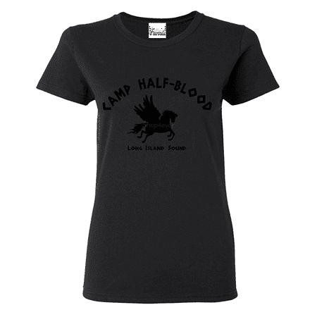 Camp Half Blood Demigods Womens T Shirt Long Island Sound Shirts