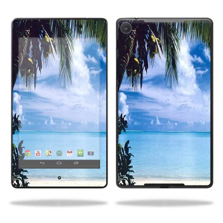 Mightyskins Protective Skin Decal Cover For Asus Google Nexus 7    2013   2Nd Generation  Wrap Sticker Skins Beach Bum