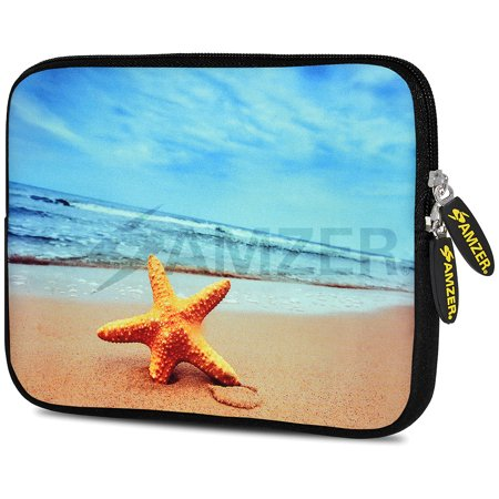- Designer 7.75 Inch Soft Neoprene Sleeve Case Pouch for Alcatel ONETOUCH POP 7 LTE, Acer Iconia One 7, LG G Pad, Amazon Fire 7, Kindle/ Kindle HD 7, RCA 7 Tablet - Star Fish