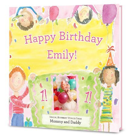 Happy Birthday To You! (For Girls) - Personalized Book - Personalized First Birthday Book
