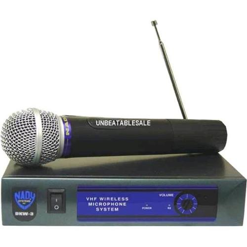 Nady DKW-3 HT/B VHF Single Receiver Handheld Microphone System (DKW3)