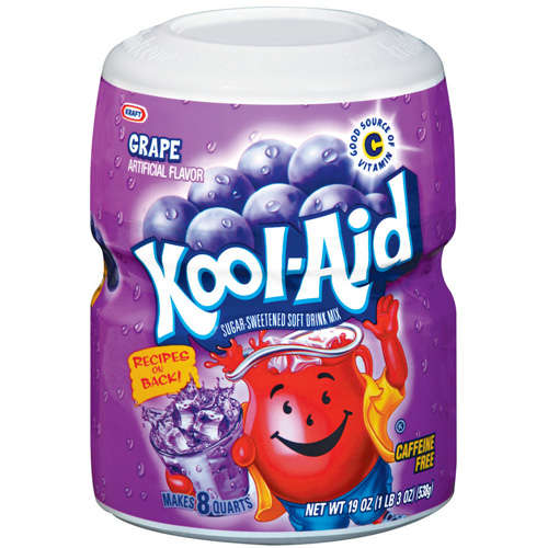 Kool-Aid Grape Drink Mix, 19 oz